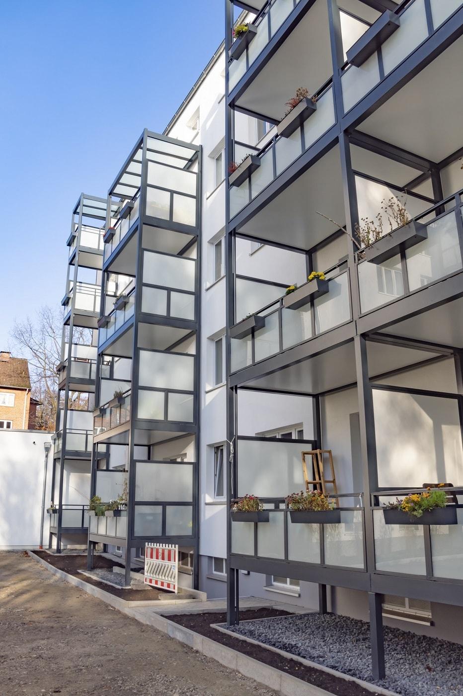 Prefabricated Balcony Systems Copal