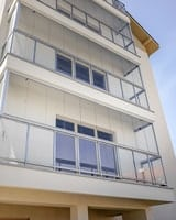 glass balcony enclosures