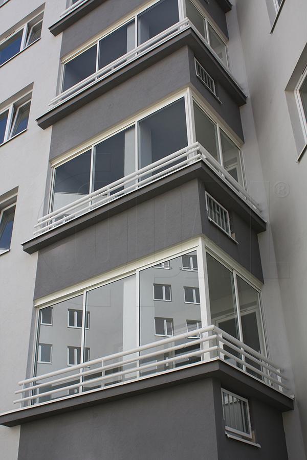 Balcony glass - Copal