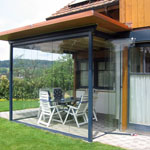 patio enclosure frameless system